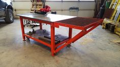 Miller - Welding Projects - Idea Gallery - Hand plasma cutting table ...