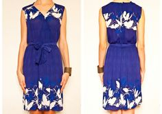 Amazing original 70's vintage dress with by VintageCosmopolitan
