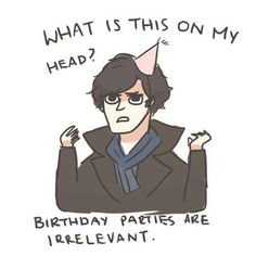 Sherlock birthday