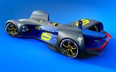 Daniel Simon's robot racecar!