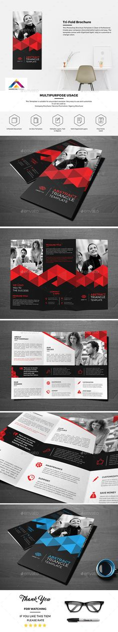 Haweya Tri-Fold Brochure Template PSD. Download here: http://graphicriver.net/item/haweya-trifold-brochure-03-/15906849?ref=ksioks