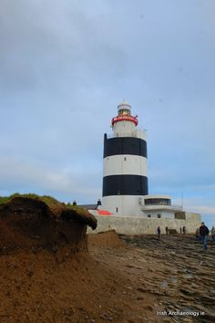 The iconic Hook Head lighthouse represents one of the oldest operational lighthouses in the world.  It stands on the very tip of the windswept Hook peninsula in Co. Wexford, Ireland and is circa 800 years old.