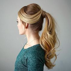 25 Lovely High Ponytail Hairstyles — More Ideas to Try! Check more at http://hairstylezz.com/best-high-ponytail-hairstyles/