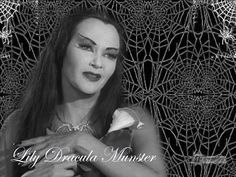 The Munsters Wallpaper: Lily Dracula Munster The Munsters Cast, Munsters Tv Show, Horror Icons, Horror Comics, Munsters Grandpa, Marilyn Munster, Herman Munster, Black Sheep Of The Family, Lily Munster