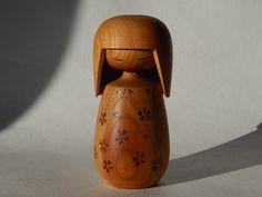Vintage japonaise Kokeshi bois poupée Souvenir par RedRooster1980