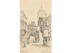 Rouen By William Mitcheson Timlin