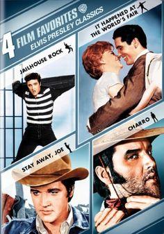 4 Film Favorites: Elvis Presley Classics DVD | Film & Movies Favorites by Category| TCM Shop