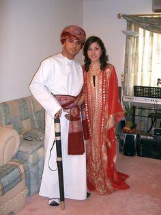 #Oman Bride and groom/ #weddings
