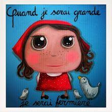 Fun oil pastel art, french artist self portrait Cute Girl Illustration, When I Grow Up, Pastel Art, French Artists, Whimsical Art, Art Plastique, Funny Art, Kids Decor, Portrait Art