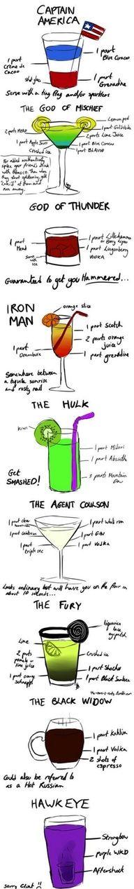 Avenger's Alcoholic beverages