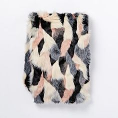 So dreamy! Wish it was colder in SoCal. Faux Fur Foxy Throw by West Elm