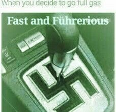 Nazi jokes Fast and führerious