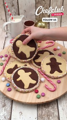Xmas Food, Christmas Sweets, Christmas Cooking, Fun Baking Recipes, Sweet Recipes, Cookie Recipes, Köstliche Desserts, Delicious Desserts, Dessert Recipes