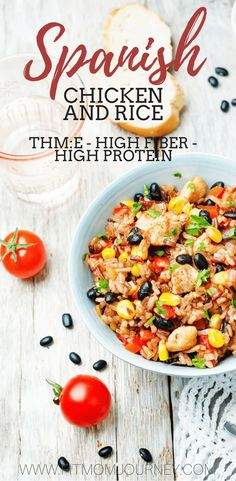 Break out your crockpot and make this hearty THM:E Trim Healthy Mama Slow Cooker Chicken and Rice. It takes less than 10 minutes to put together and will fill you up!