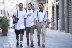 Galeria de Fotos Os looks de street style da temporada masculina Verão 2016 // Foto 92 // Notícias // FFW