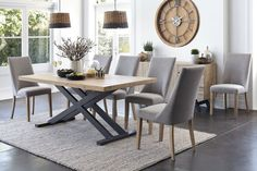 Bari Dining Table by John Young Furniture | Harvey Norman New Zealand