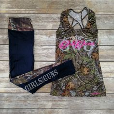 Mossy Oak Workout Gear from Girls With Guns Clothing. What more does a country girl need to stay in hunting shape year round?