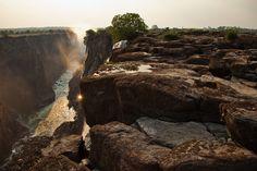 viktoriafälle trockenzeit auf Simbabwe Reiseführer