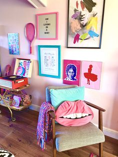 Room Ideas Bedroom, Bedroom Decor, Dreamhouse Barbie, Colorful Apartment, Barbie Dream House, Dream Apartment, My New Room, Room Colors, House Rooms