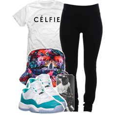 A fashion look from June 2014 featuring snap t shirts, black leggings and iphone cases. Browse and shop related looks.