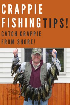 How To Fish For Crappie From The Bank Crappie Bank Fishing Tips) - Fishing Skillz Crappie Rigs, Crappie Fishing Tips, Fishing Knots, Carp Fishing, Best Fishing, Saltwater Fishing, Kayak Fishing, Catfish Bait, Winter Fishing