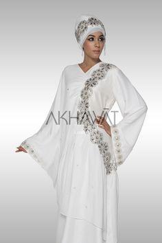 Akhawat - Unique Bridal Hijabs and Bridal Abayas Muslim Women Fashion, Islamic Fashion, Abaya Fashion, Modest Fashion, Hijab Evening Dress, Turban, Bridal Hijab, Islamic Clothing, Modest Dresses