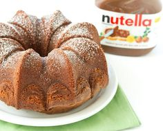 Pure Nutella Cake | Kirbie's Cravings | A San Diego food blog