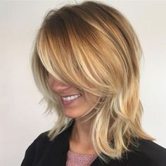 Shoulder Length Hair With Short Layers