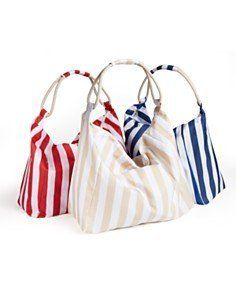"""BLOOMINGDALE' Striped TOTE (Pink) by Bloomingdale's. $17.99. Orange -White Stripe.. Approximate dimension: 25"""" X 16"""" X 6"""". Available for sale is ONE (1) tote.. Brand new!"""