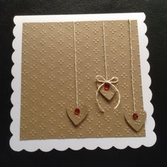 Tattered Lace EF on craft card