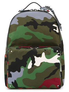 Shop Valentino Garavani camouflage backpack in O' from the world's best independent boutiques at farfetch.com. Shop 300 boutiques at one address.