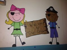 """""""Welcome to Our Crew"""" Pirates"""