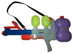 Vintage Super Soaker Water Guns: $100 - $500 from the 1990's most valued