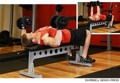 Bodybuilding.com - The Lunchtime Workout - Dumbell Bench Press