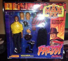 Vintage Maxx F x Freddy Krueger Figure Nightmare on Elm Street | eBay