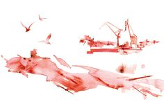 Maria Kask Illustration - WATER COLOUR