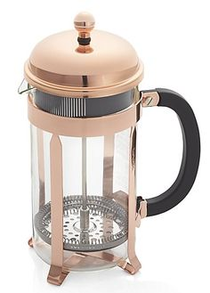 Beautiful copper French press
