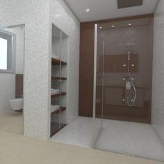 Baño diseñado por Fábrica de Arquitectura para una vivienda unifamiliar en Sevilla. Tanto los materiales como los aparatos sanitarios son de Porcelanosa. Bathtub, Bathroom, Gadgets, Sevilla, Architecture, Interiors, Standing Bath, Bath Room, Bath Tub
