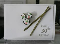 Sushi Anyone? by pamjoy - Cards and Paper Crafts at Splitcoaststampers