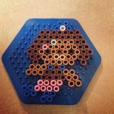 Octonaut Hama Beads designs - Dashi