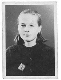 Forced labour under German rule during World War II - Young Polish girl with a letter P patch