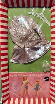 Vintage Barbie Silver Sparkle/Salute to Silver I still have this outfit from my childhood