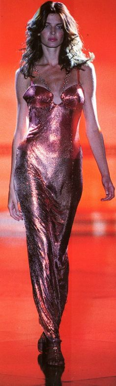 Gianni Versace / HC fall 1994 / Stephanie Seymour