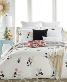 kate spade new york Willow Court Blush Full/Queen Comforter Set, a Macy's Exclusive Style