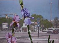 Totally different point of view. by Doug Braithwaite, Utah artist.
