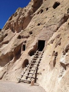 Anasazi Cliff Dwellings in Banadalier National Monument, Los Alamos, NM