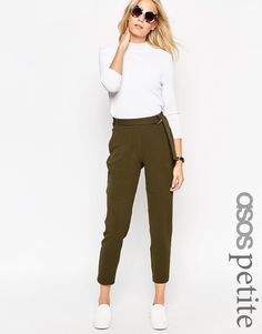ASOS PETITE Jogger with D ring Detail $53.75