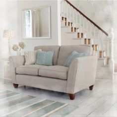Laura Ashley, Love Seat, Couch, Furniture, Home Decor, Homemade Home Decor, Sofa, Couches, Home Furnishings