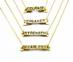 Mantra Necklace Bundle $149