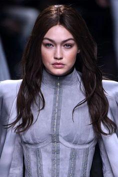 celebstills: Gigi Hadid – Balmani Fashion Show – Paris Fashion Week 332016